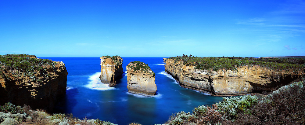 Loch Ard Gorge <br /> The site of a tragic shipwreck with only two survivors ,Eva Carmichael and cabin boy Tom Pierce