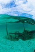 World War II Relics, Rock Islands, Palau, Micronesia<br />