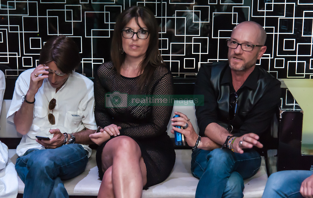 June 16, 2017 - Naples, Italy - Workshop in Naples precisely at the flame in via Falcone. The event was attended by Maury Povia of the EMP agency and Gianpaolo Mai, director who directed Giancarlo Giannini in the comedy in memory of Massimo Troisi, was also present the actress of Mediaset Nancy Mastia. The guests were also Rita Forzano director casting Endemol and Rai who recently finished working for the casting ''try again prof'' and ''Sisters'' with Anna Valle. (Credit Image: © Sonia Bardolone/Pacific Press via ZUMA Wire)