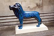 Lion statue public art, Pride in our City project,  Bath