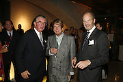 George McGann, Nicky Haslam and Harry Fane, Treasures From The Gem Palace, Private view of gem stones created by a family of Indian court jewellers from Jaipur (the Kasliwals). Somerset House, London, WC2, 28 September 2006. www.somerset-house.org.uk-DO NOT ARCHIVE-© Copyright Photograph by Dafydd Jones 66 Stockwell Park Rd. London SW9 0DA Tel 020 7733 0108 www.dafjones.com