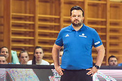Coach Damir Grgic of Slovenia during Women's Basketball - Slovenia vs Slovaska on the 14th of June 2019, Dvorana Poden, Skofja Loka, Slovenia. Photo by Matic Ritonja / Sportida