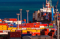 Container ship, Port, Noumea, Grand Terre, New Caledonia