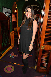 LOHRALEE ASTOR at the launch of GP Nutrition held at Annabel's, 44 Berkeley Square, London on 26th January 2016.