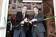Opening of St Anns Visitor Centre by Dominic Heal (BBC) & Chris Leslie MP CLIENT: The Renewal Trust