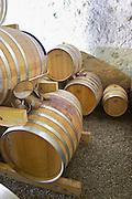 Domaine Bertrand-Berge In Paziols. Fitou. Languedoc. Barrel cellar. France. Europe.