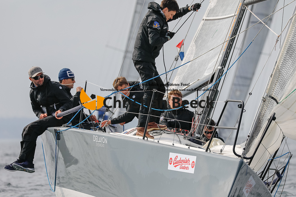 , Kiel - Maior 28.04. - 01.05.2018, ORC 3 - HEAT - GER 4640 - farr 30 - Max Augustin - NRV