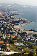 Italy, Liguria, Sanremo coast