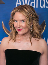 February 17, 2019 - Beverly Hills, California, U.S - Stephanie Gillis ''The Simpsons'' in the red carpet of the 2019 Writers Guild Awards at the Beverly Hilton Hotel on Sunday February 17, 2019 in Beverly Hills, California. ARIANA RUIZ/PI (Credit Image: © Prensa Internacional via ZUMA Wire)