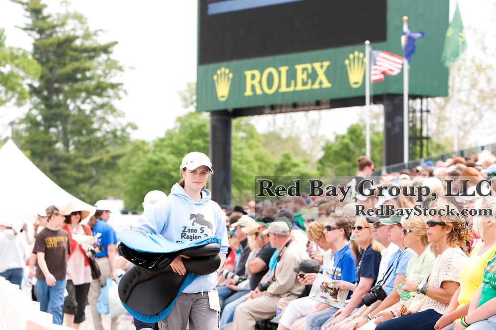 Sold out crowds onn Sunday at the 2012 Rolex Kentucky Three-Day Event held at the Kentucky Horse Park in Lexington, KY.