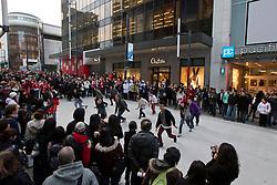Canada's North flashmobs on Granville Street