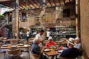 Los Danzantes restauarant. Oaxaca is known throughout Mexico and internationally for it's great food. Seen as a centre for Mexican cuisine, among other regional specialities the dish the area is best known for is called Mole.