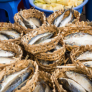 Fish for sale at market in Ho Chi Minh City