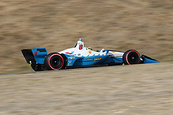 September 14, 2018 - Sonoma, California, United Stated - PATRICIO O'WARD (8) of Mexico takes to the track to practice for the Indycar Grand Prix of Sonoma at Sonoma Raceway in Sonoma, California. (Credit Image: © Justin R. Noe Asp Inc/ASP via ZUMA Wire)