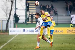 Šušnjara and Vidmajer during football match between NŠ Mura and NK Celje in 18th Round of Prva liga Telekom Slovenije 2018/19, on December 2, 2018 in Fazanerija, Murska Sobota, Slovenia. Photo by Blaž Weindorfer / Sportida