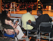 Jada Pinkett Smith, Muhammad Ali & Sean P. Diddy Combs.**EXCLUSIVE**.A Night to Remember the Champ .TASCHEN and Art Basel host the unveiling of the Book GOAT - Greatest Of All Time, a tribute to Muhammad Ali. .Miami Beach Convention Center - Muhammad Ali Hall.Miami Beach, FL, USA.Saturday, December, 06, 2003 .Photo By Celebrityvibe.com/Photovibe.com...