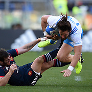 20170311 Rugby, RBS 6 nations : Italia vs Francia