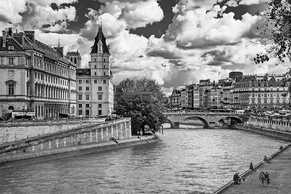 City of Light & Clouds, Paris, France