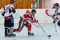 Christoph Draskowitz of Austria at inline hockey match between Slovakia and Austria at HorjulCup, on June 10, 2011 in Sportni park, Horjul, Slovenia. (Photo by Matic Klansek Velej / Sportida)
