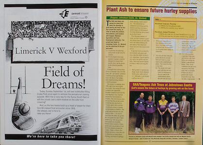 All Ireland Senior Hurling Championship - Final,.01.09.1996, 09.01.1996, 1st September 1996,.01091996AISHCF, .Wexford v Limerick,.Wexford 1-13, Limerick 0-14,.Iarnrod Eireann,