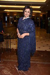 Meera Syal at The Asian Awards, The Hilton Park Lane, London England. 5 May 2017.<br /> Photo by Dominic O'Neill/SilverHub 0203 174 1069 sales@silverhubmedia.com