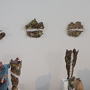 """03.06.2018.        <br /> An In-FLUX of visitors attended LSAD, Limerick School of Art and Design for one of Ireland's largest and most vibrant Graduate Shows.<br /> <br /> <br /> More than 200 Fine Art and Design students' work went on display from June 2 to June 10, 2018 at the LSAD Graduate Show - FLUX.<br /> LSAD has been central to Art, Craft and Design in the Limerick and Midwest region since 1852.<br />  <br /> The concept, branding and overall design of the 2018 LSAD Graduate Show - FLUX – is student led, and begins this Saturday June 2 and runs until June 10, 2018.<br />  <br /> FLUX encapsulates the movement and change from student to graduate. """"The """"X"""" in """"FLUX"""" represents the students and how they have made their mark in their time at college,"""" explains designers Cathy Hogan and Will Harte as they outline the thinking behind the concept.<br />  <br /> FLUX describes the dynamic movement in the Limerick city region as it overcomes significant issues to become a fulcrum of rejuvenation, vibrant culture, strong industry growth and a centre of design.<br />  <br /> LSAD is also in a state of FLUX as it develops its enterprise potential and engagement with stakeholders across industry, public bodies, third level institutions and other partners overseeing a shift towards design, creativity and connectivity that goes far beyond the walls of its main campus on Clare Street. Picture: Alan Place"""