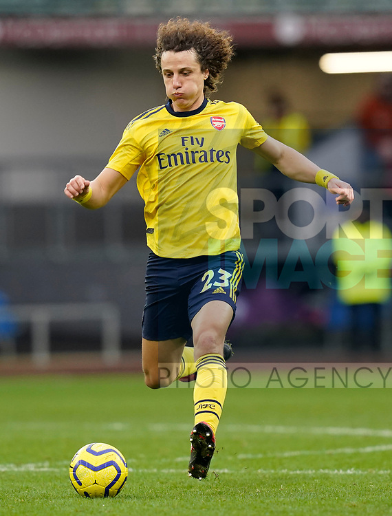 David Luiz of Arsenal during the Premier League match at Turf Moor, Burnley. Picture date: 2nd February 2020. Picture credit should read: Andrew Yates/Sportimage