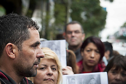 August 1, 2017 - Buenos Aires, Argentina - Protesters during a demonstration calling for justice for the murder against Agustin Curbelo and Nazareno Vargas. August 1st, 2017, in Merlo, Buenos Aires, Argentina. (Credit Image: © Gabriel Sotelo/NurPhoto via ZUMA Press)