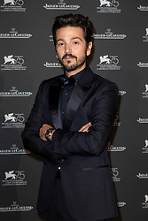 Diego Luna attends the Jaeger Le-Coultre Gala night held at Arsenale Docks during the 75th Venice Film Festival at Sala Grande on September 4, 2018 in Venice, Italy. Photo by Marco Piovanotto/ABACAPRESS.COM