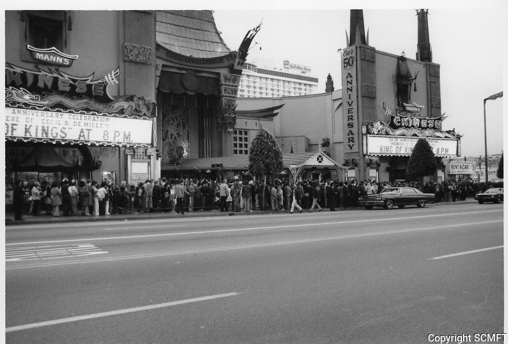 1977 Anniversary Celebration of Cecil B DeMille's King of Kings at Grauman's Chinese Theater