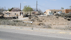 Settlement Along Historic US Route 66 West of Albuquerque NM