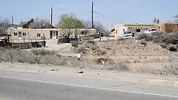 Settlement Along Historic US Route 66 West of Albuquerque NM