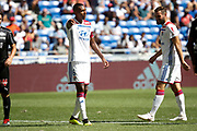 Guedes Filho Marcelo of Lyon and Tousart lucas of Lyon during the French championship L1 football match between Olympique Lyonnais and Amiens on August 12th, 2018 at Groupama stadium in Decines Charpieu near Lyon, France - Photo Romain Biard / Isports / ProSportsImages / DPPI