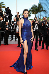 Adriana Lima attends the screening of Oh Mercy! (Roubaix, une Lumiere) during the 72nd annual Cannes Film Festival on May 22, 2019 in Cannes, France. Photo by Shootpix/ABACAPRESS.COM