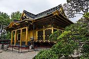 Ueno Toshogu shrine, Tokyo, Japan. Ueno Toshogu Shrine was built in 1651 and is one of many in Japan dedicated to Tokugawa Ieyasu, the founder of the Edo Shogunate.