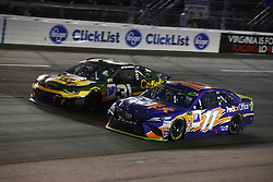 September 22, 2018 - Richmond, Virginia, United States of America - Denny Hamlin (11) battles for position during the Federated Auto Parts 400 at Richmond Raceway in Richmond, Virginia. (Credit Image: © Chris Owens Asp Inc/ASP via ZUMA Wire)