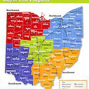 Ohio Regions Map