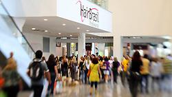 Movimento de público na Hair Brasil 2009 - 8 ª Feira Internacional de Beleza, Cabelos e Estética, que acontece de 28 a 31 de março 2009, no Expo Center Norte, São Paulo. FOTO: Jefferson Bernardes/preview.com