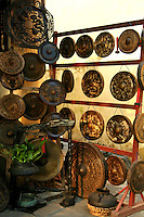 Vietnamese Gong Shop - Though most Vietnamese markets are very colorful and active, Hoi An's market positively hums and vibrates with action from morning till mid afternoon.  Here you'll find everything from fresh crabs to herbs and produce to souvenir items.
