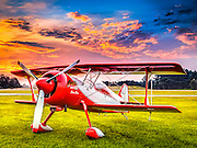 Pitts Model 12, photographed at Habersham County Airport in Cornelia, Georgia.  <br />