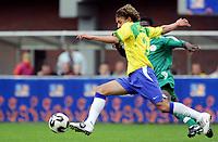 Fotball <br /> FIFA World Youth Championships 2005<br /> Emmen<br /> Nederland / Holland<br /> 12.06.2005<br /> Foto: Morten Olsen, Digitalsport<br /> <br /> Brasil v Nigeria 0-0<br /> <br /> Rafael - Brasil