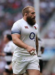 England's Jack Singleton during the Quilter Cup match between England and the Barbarians at Twickenham Stadium, London