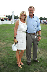 The MARQUESS & MARCHIONESS OF MILFORD HAVEN at the Cartier International Polo at Guards Polo Club, Windsor Great Park on 27th July 2008.<br /> <br /> NON EXCLUSIVE - WORLD RIGHTS