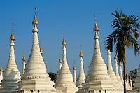 Myanmar (ex Birmanie), Mandalay, Paya Sandamuni // Myanmar (Burma), Mandalay, paya Sandamuni