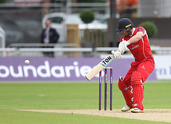 Steven Croft of Lancashire Lightning in action - Mandatory by-line: Jack Phillips/JMP - 23/07/2017 - CRICKET - Emirates Old Trafford - Manchester, United Kingdom - Lancashire Lightning v Durham Jets - Natwest T20 Blast