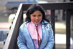 Girl At Burger Barn