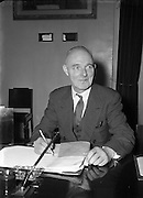 07/01/1954<br /> 01/07/1945<br /> 07 January 1954  <br /> <br /> Professor John Busteed (Cork University) Chairman at Labour Unity Talks<br /> <br /> <br /> John Busteed (1895–1964), economist, was born 30 June 1895 at Mayfield, a suburb of Cork city, son of John Busteed, ship's steward, and Mary Busteed (née Hickey). Educated at the North Monastery School, Cork, he was the first recipient of the Honan scholarship to UCC (1913) In failing health for about a year, he died 9 August 1964 at the Bons Secours nursing home. He and his wife Mary had three sons and two daughters and lived at Ceann Mara, Blackrock Road, Cork.