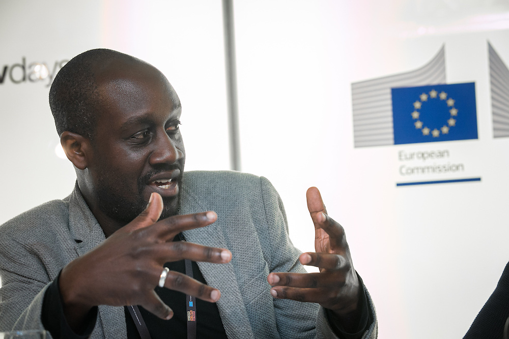 03 June 2015 - Belgium - Brussels - European Development Days - EDD - Health - Access to sexual and reproductive health and rights - A prerequisite for youth economic empowerment - Musa Okwonga , Author and consultant - Independent © European Union