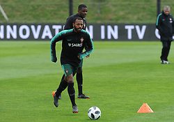 March 20, 2018 - Na - Oeiras, 03/20/2018 - The National Team AA trained this morning with a view to preparing for the 2018 World Cup in the City of Soccer in Oeiras. Manuel Fernandes  (Credit Image: © Atlantico Press via ZUMA Wire)
