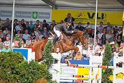 Lelie Walter (BEL) - Derly Chin de Muze<br /> Final 6 years old horses<br /> World Championship Young Horses Lanaken 2009<br /> © Hippo Foto - Dirk Caremans